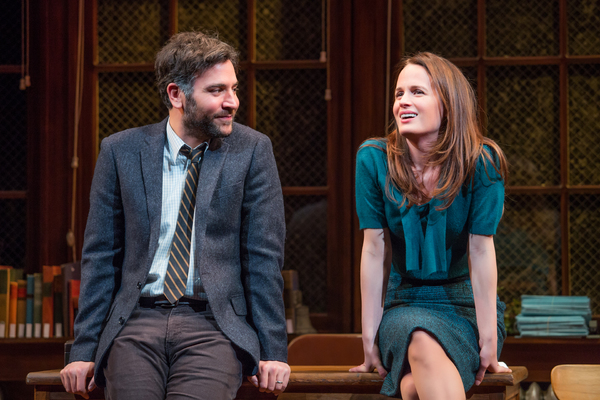 Photo Flash: First Look at Josh Radnor and Elizabeth Reaser in THE BABYLON LINE at Lincoln Center Theater