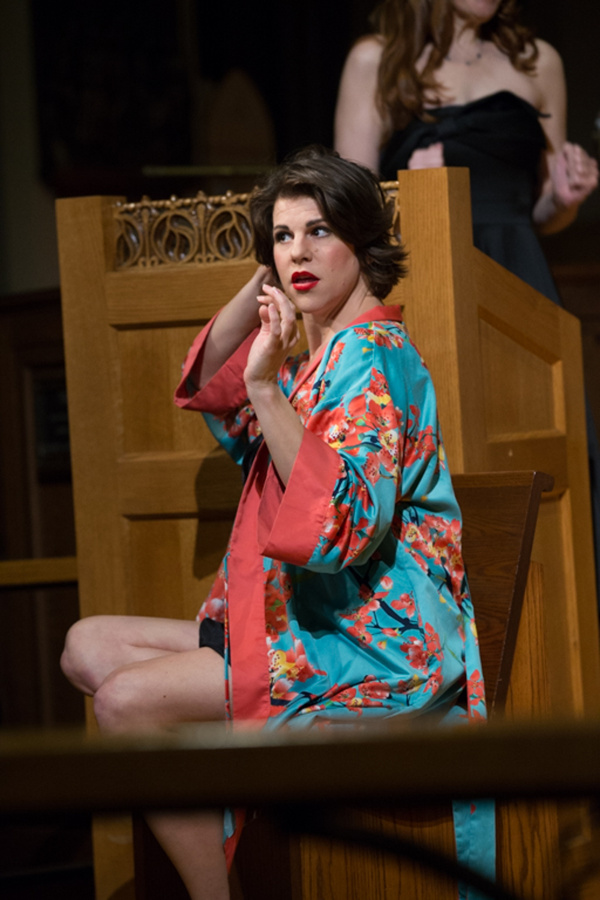 Photo Flash: First Look at Opera Collective's THE PROPOSAL at The Actors' Chapel This Week
