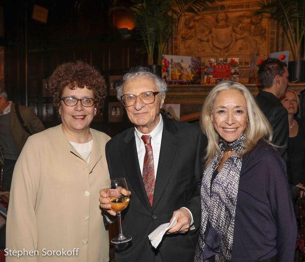 Judith Clurman, Sheldon Harnick, Eda Sorokoff