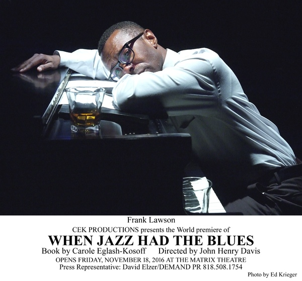 Photo Flash: First Look at CEK Productions' World Premiere of WHEN JAZZ HAD THE BLUES