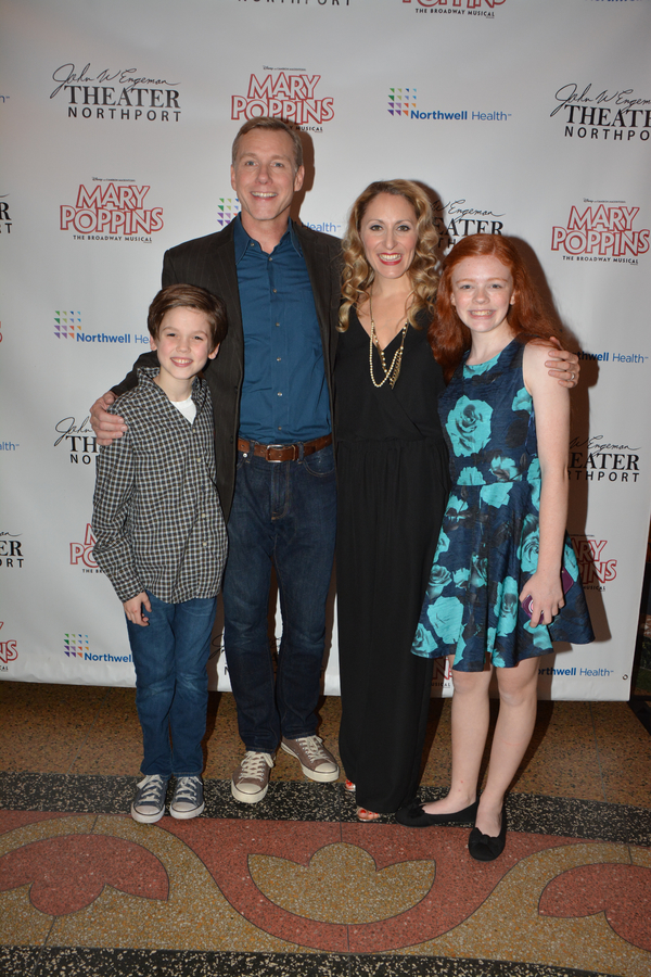 Christopher McKenna, David Schmittou, Liz Pearce and Katherine LaFountain