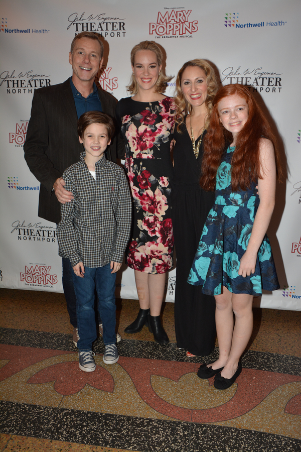 David Schmittou, Analisa Leaming, Liz Pearce, Christopher McKenna and Katherine Fount Photo