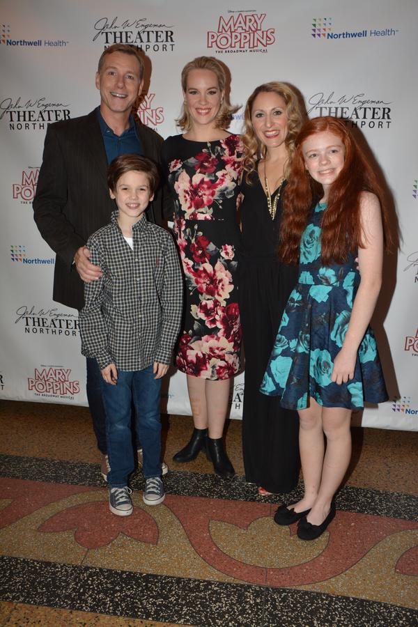 David Schmittou, Analisa Leaming, Liz Pearce, Christopher McKenna and Katherine Fount Photo