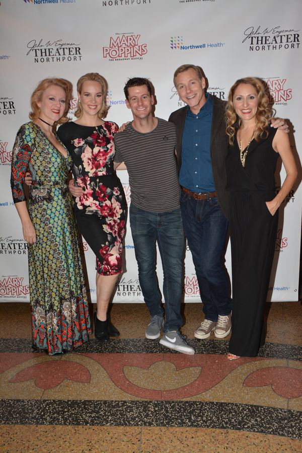Jane Blass, Analisa Leaming, Luke Hawkins, David Schmittou and Liz Pearce