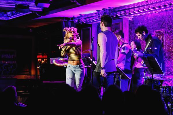 Photo Flash: BROADWAY LOVES BRITNEY at Feinstein's/54 Below
