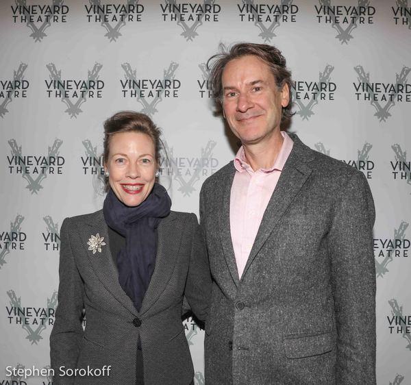 Veanne Cox & Ezra Barnes