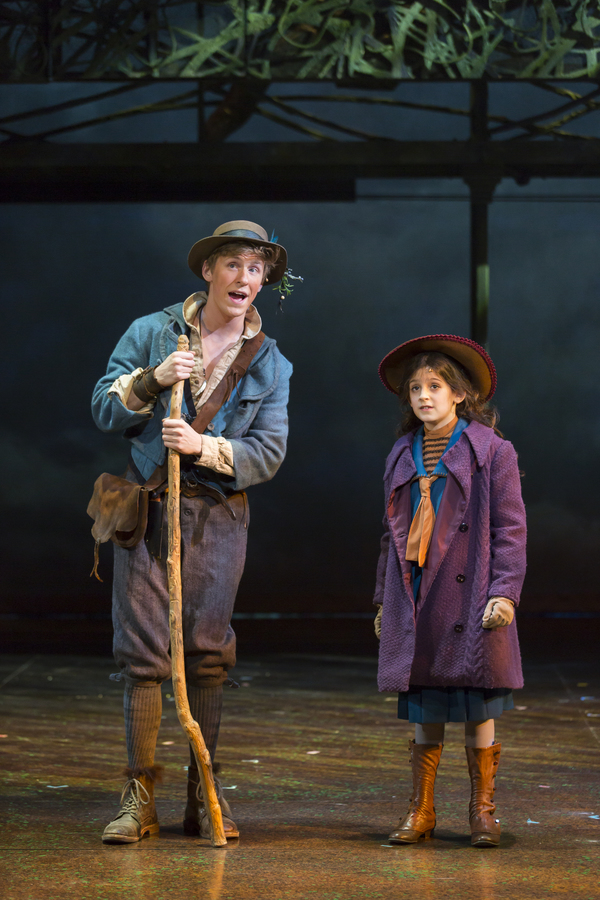 photo flash  first look at daisy eagan u0026 39 s return to the secret garden at shakespeare theatre company