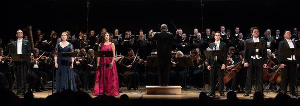 Michael Fabiano, Dana Beth Miller, Dramatic Mezzo Soprano, Joyce El-Khoury, Ricardo Rivera, Aleksey Bogdanov and Wei Wu