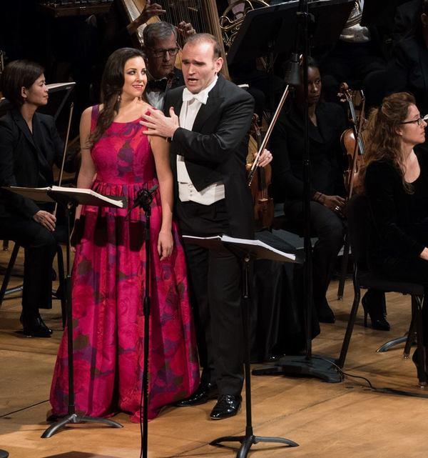 Joyce El-Khoury and Michael Fabiano