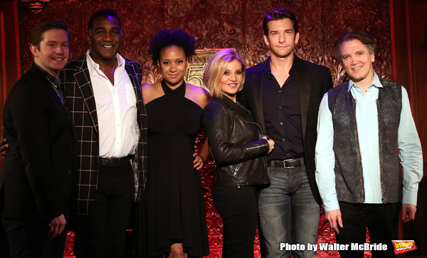 Rory O'Malley, Norm Lewis, Tracie Thoms, Orfeh, Andy Karl and Charles Busch