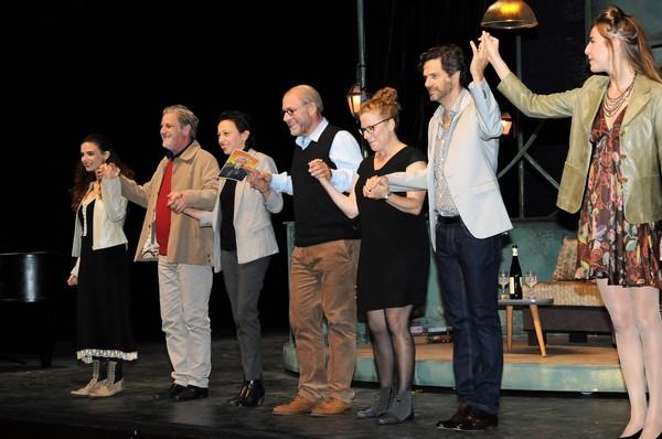 Liron Ben-Shlush, Sharon Alexander, Keren Tzur, Dvir Benedek, Dorit Lev-Ari, Ishai Golan and Roni Goldfine
