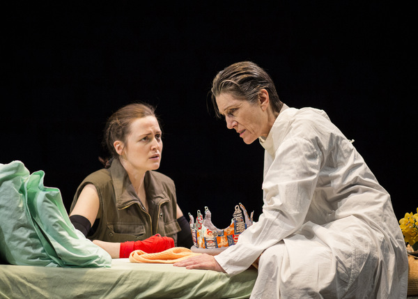 Clare Dunne and Harriet Walter