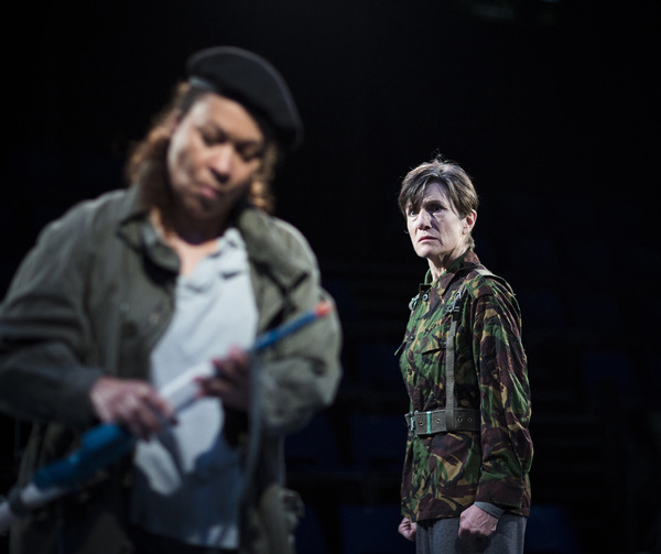 Martina Laird and Harriet Walter