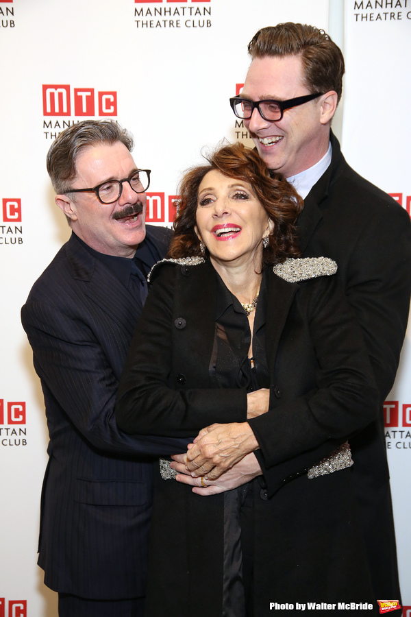 Nathan Lane, Andrea Martin, and Devlin Elliott