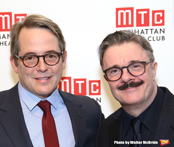 Matthew Broderick and Nathan Lane