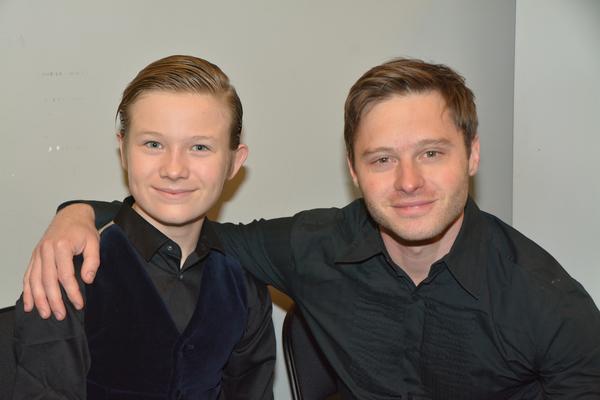 Eason Ritter and Bobby Steggert