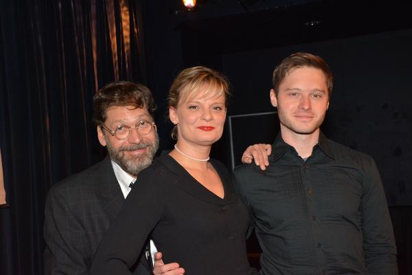 David Staller, Martha Plimpton and Bobby Steggert