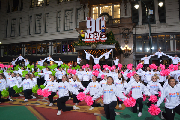 Photo Coverage: Casts of HOLIDAY INN, PARAMOUR & More Rehearse for the Macy's Thanksgiving Day Parade!
