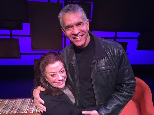 Brian Stokes Mitchell and Monica Piper
