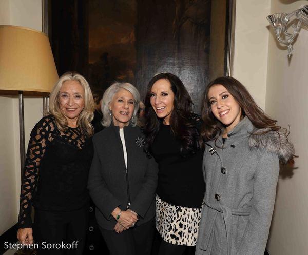 Eda Sorokoff, Jamie deRoy, Deborah Silver, Madison Silver