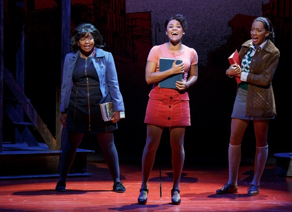 A Bronx Tale: The Musical Production Photo - Trista Dollison, Ariana DeBose, Cristiani Pitts