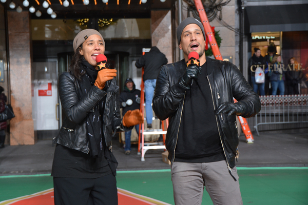 Cats Rehearse For Macy S Thanksgiving Parade