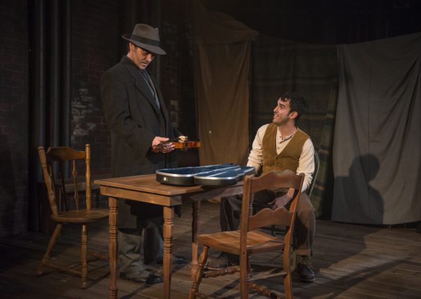 Photo Flash: First Look at Griffin Theatre Company's WINTERSET at The Den Theatre