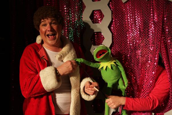 Ed Jones and Kermit the Frog (Scott Ray Merchant)