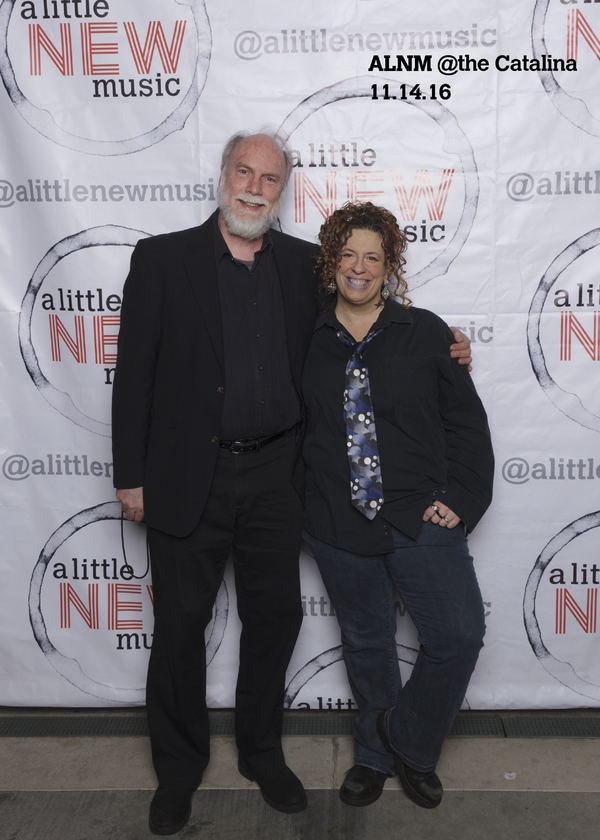 Executive Producer amy francis schott with Eric Cornwell