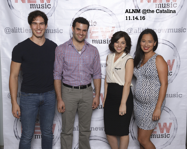 Conor Guzman, Travis Leland, Krysta Rodriguez, and Marie-France Arcilla
