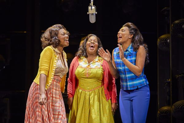 Ibinabo Jack, Amber Riley and Liisi Lafontaine