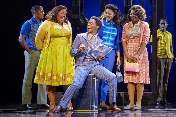 Amber Riley, Tyrone Huntley, Liisi Lafontaine, and Ibinabo Jack