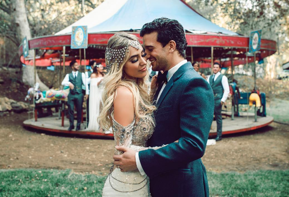Oh What a Night! JERSEY BOYS' Star Mark Ballas Weds Fiance BC Jean