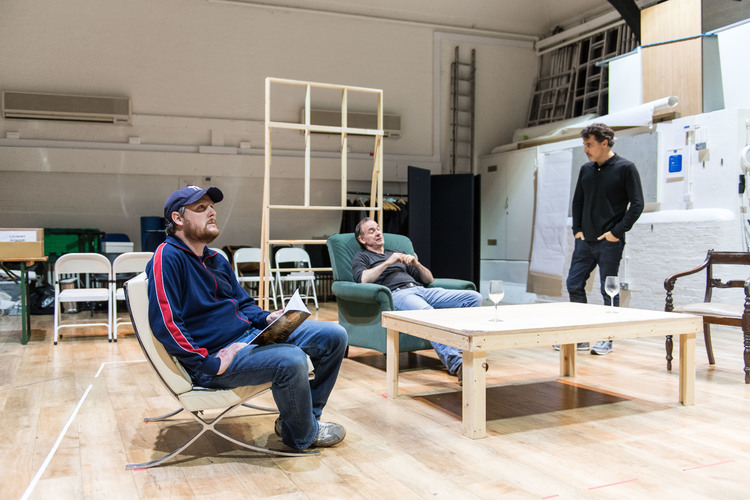 High Res Tim Key, Rufus Sewell, and Paul Ritter