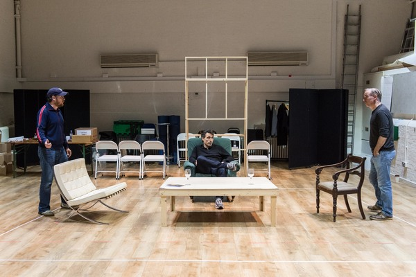 Photo Flash: Inside Rehearsals for ART at The Old Vic