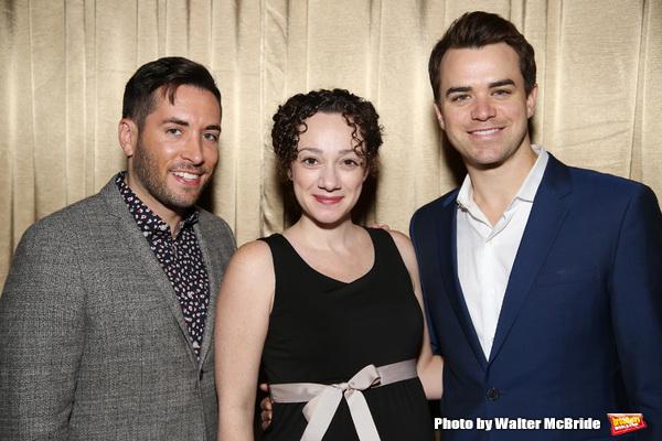 Zachary Prince, Megan McGinnis and Ross Lekites  Photo
