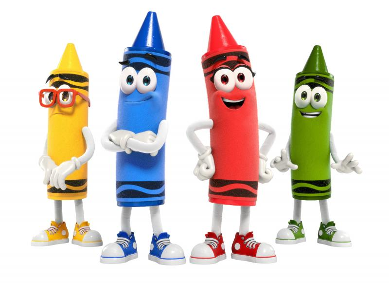 Crayola Launches Animated Characters for First Time in its History