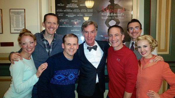Bill Nye with Robert Creighton