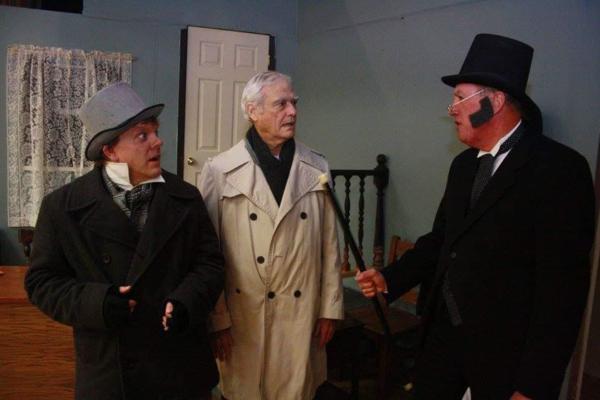 Christopher Mitchell, John Wolf, and Paul Graf Photo