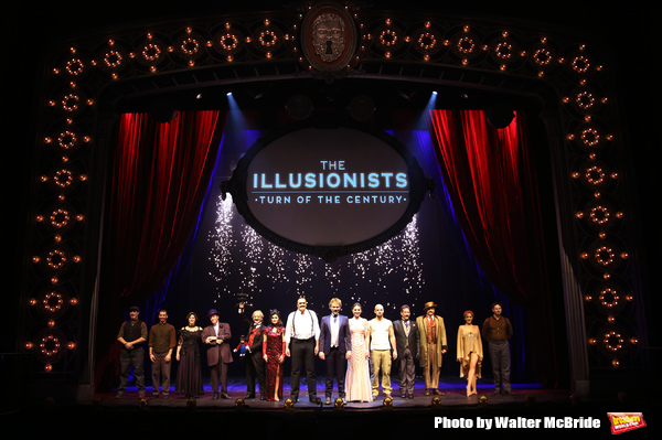 FREEZE FRAME: Meet the Cast of THE ILLUSIONISTS - TURN OF THE CENTURY