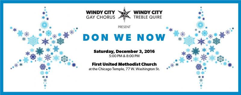 38th Annual DON WE NOW Choral Concert
