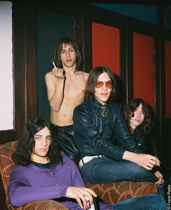 Iggy Pop, Scott Asheton, Ron Asheton, and Dave Alexander in GIMME DANGER, a Magnolia Pictures release. Photo courtesy of Amazon Studios / Magnolia Pictures. Photo credit: © Frank Pettis.