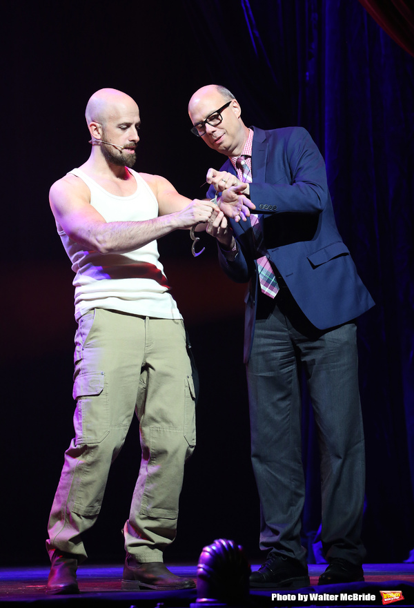 Jonathan Goodwin with Richard Ridge