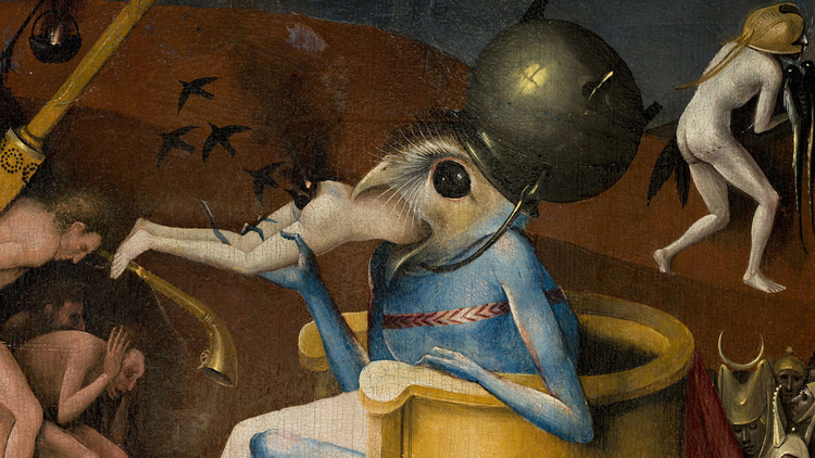 Detail from The Garden of Earthly Delights circa 1494,1516