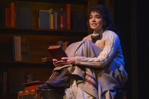 Jerusha Abbott (Hilary Maiberger) attends college thanks to a mysterious benefactor