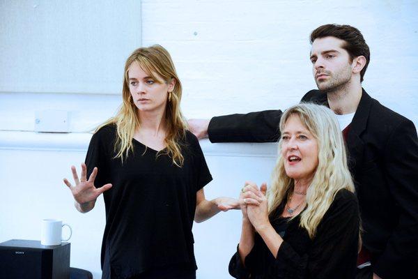 Cressida Bonas, Linnie Reedman, and Ludovic Hughes Photo