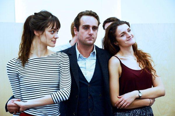 Ellen Francis, Bradley Clarkson, and Lauren Chinery