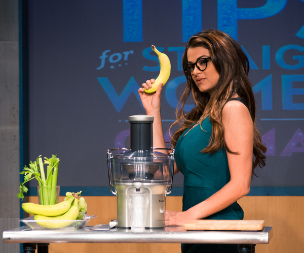 Photo Flash: SHAHS OF SUNSET's G.G. Gharachedaghi Extends Run in 'SEX TIPS' Off-Broadway