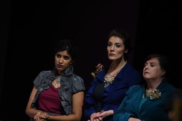Rimsha Azfal, Gabrielle Stephenson and Karen Williams