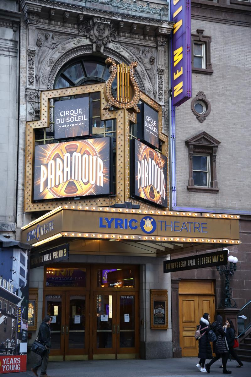 PARAMOUR Will Soar to Another Venue as Broadway's Lyric Theatre Begins Renovations
